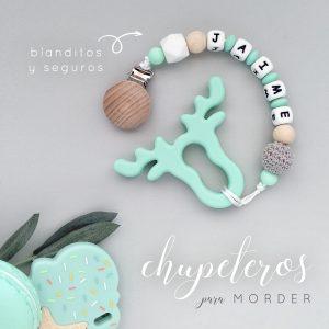 chupetero mordisqueable para bebé recién nacido modelo londres
