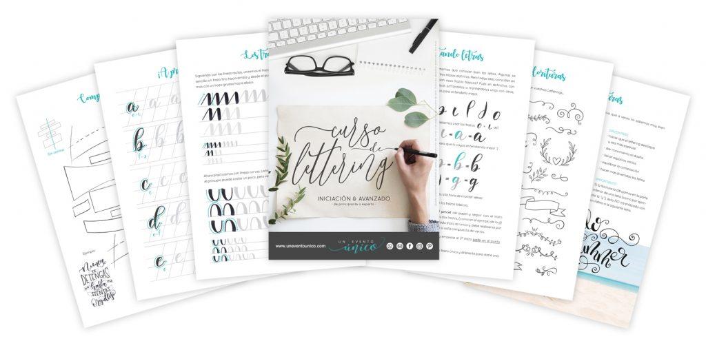 collage lettering curso