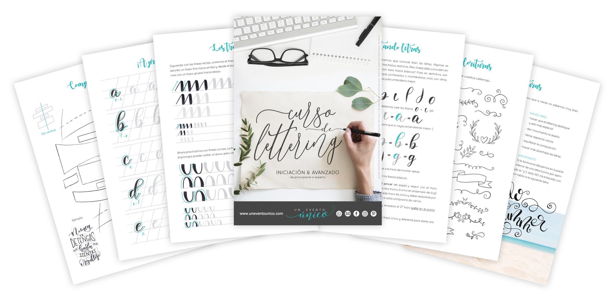 Curso online de Lettering collage